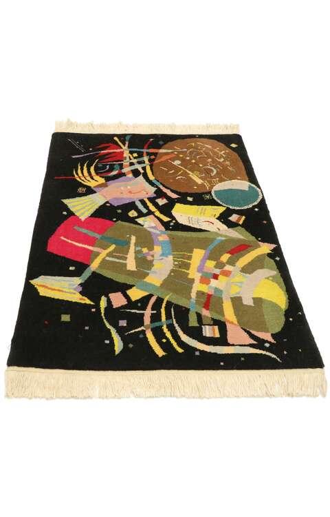 2 x 3 Wassily Kandinsky Style Tapestry 77093