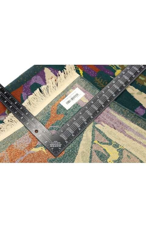 2 x 3 Vintage Chinese Art Deco Rug 77102