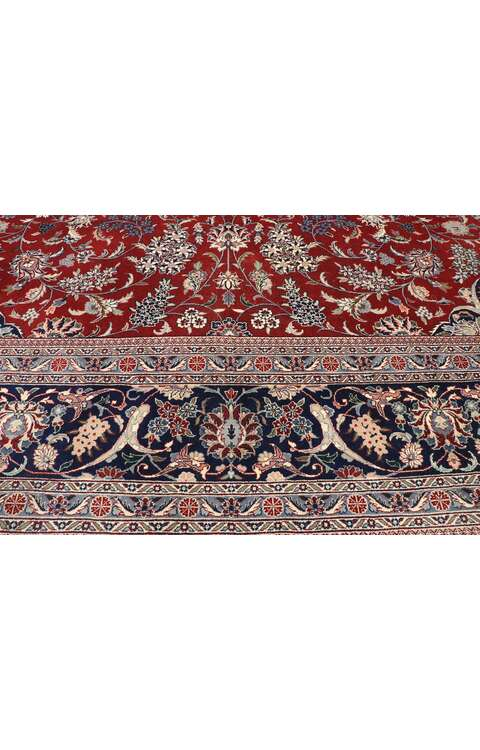 12 x 18 Vintage Persian Tabriz Rug 77415