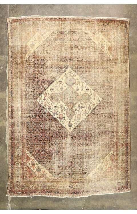 13 x 19 Antique Sultanabad Rug 77471