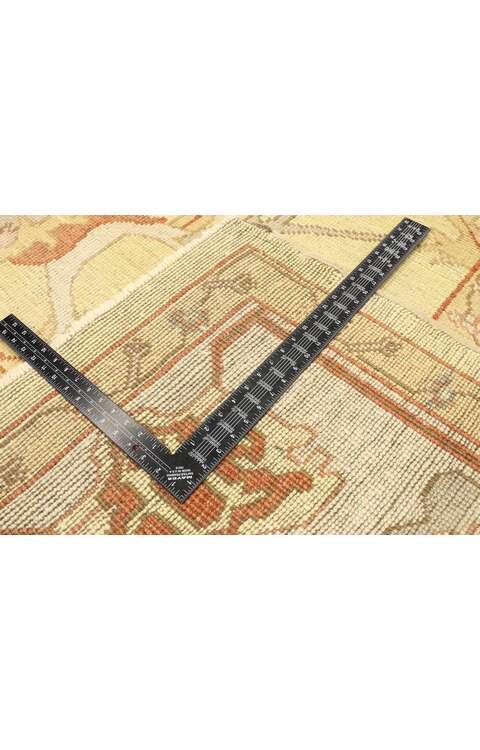 9 x 13 Vintage Oushak Rug 77478