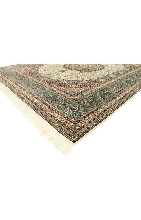 8 x 10 Vintage Turkish Hereke Rug 77506