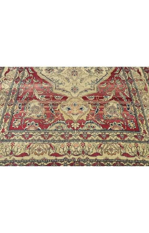 4 x 6 Antique Persian Kerman Rug 775154 x 6 Antique Persian Kerman Rug 77515