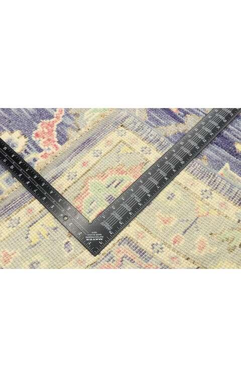 4 x 6 Contemporary Oushak Rug 80594