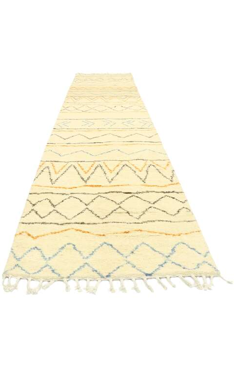 3 x 12 Contemporary Moroccan Runner 80607