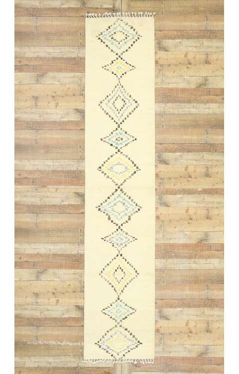 3 x 13 Contemporary Moroccan Rug 80614