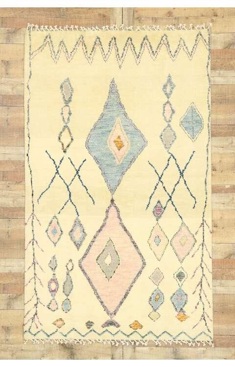 5 x 8 Contemporary Moroccan Rug 80623