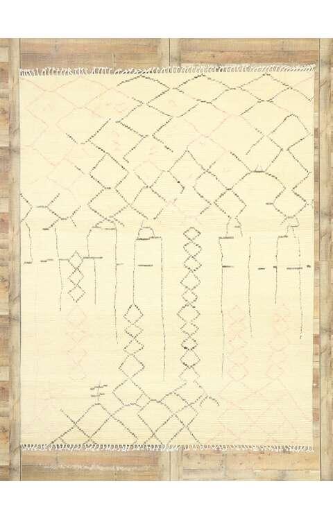 8 x 10 Contemporary Moroccan Rug 80626