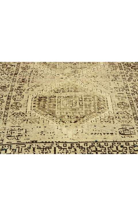 4 x 8 Vintage Persian Shiraz Rug 53048
