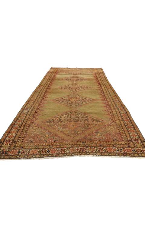 4 x 9 Antique Persian Malayer Rug 53062