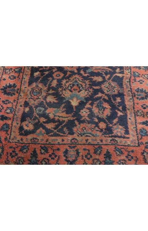 3 x 23 Antique Persian Agra Runner 77494