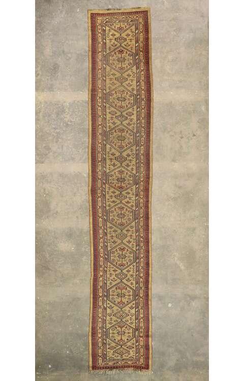 4 x 20 Antique Persian Malayer Runner 77497