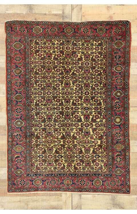 4 x 6 Vintage Turkish Sivas Rug 530684 x 6 Vintage Turkish Sivas Rug 53068