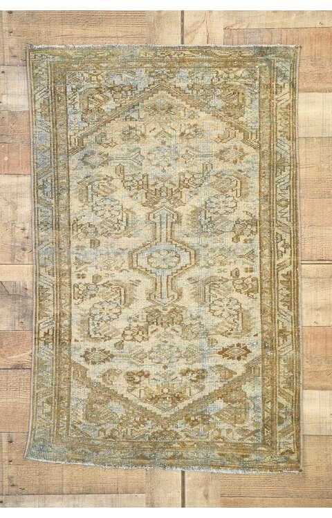 2 x 4 Vintage Persian Hamadan Rug 53090