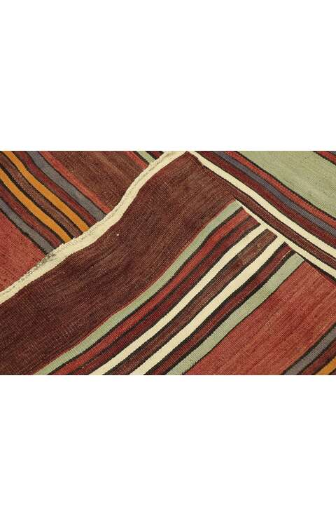 5 x 13 Vintage Turkish Kilim Runner 53135