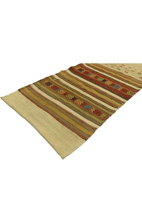 2 x 8 Vintage Turkish Kilim Runner 53139