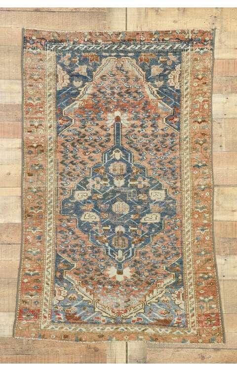 3 x 5 Vintage Persian Malayer Rug 53143