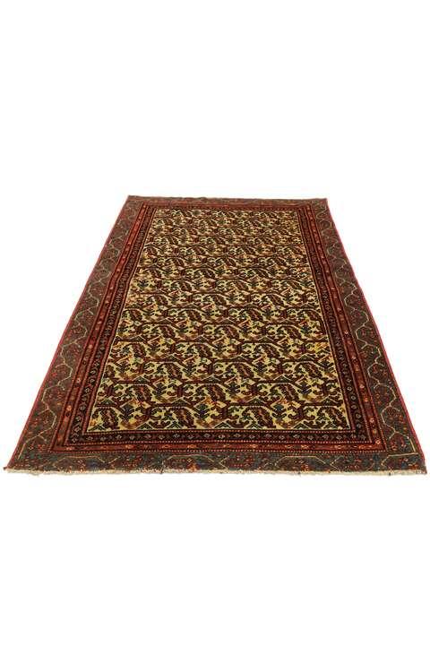 3 x 6 Vintage Persian Malayer Rug 53145