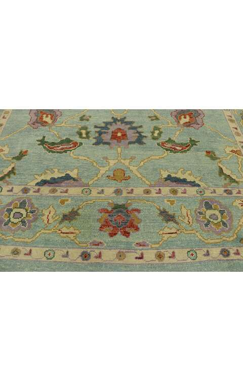 9 x 11 Turkish Oushak Rug 53205