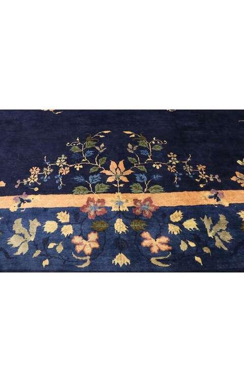 9 x 12 Antique Chinese Peking Rug 77524