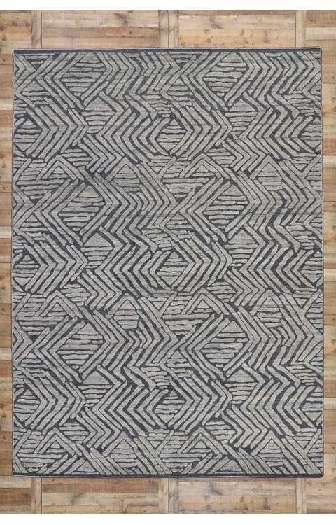 10 x 14 Contemporary Moroccan Rug 30583