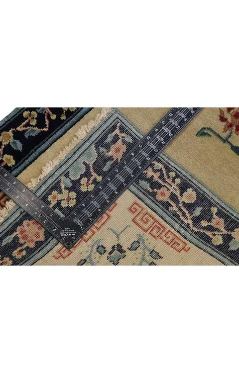 3 x 10 Chinese Art Deco Runner 30612