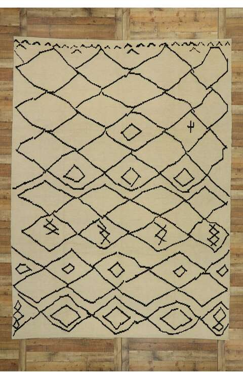 9 x 13 Moroccan Rug 53192
