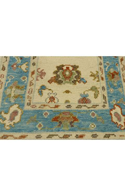 3 x 6 Turkish Oushak Rug 53196