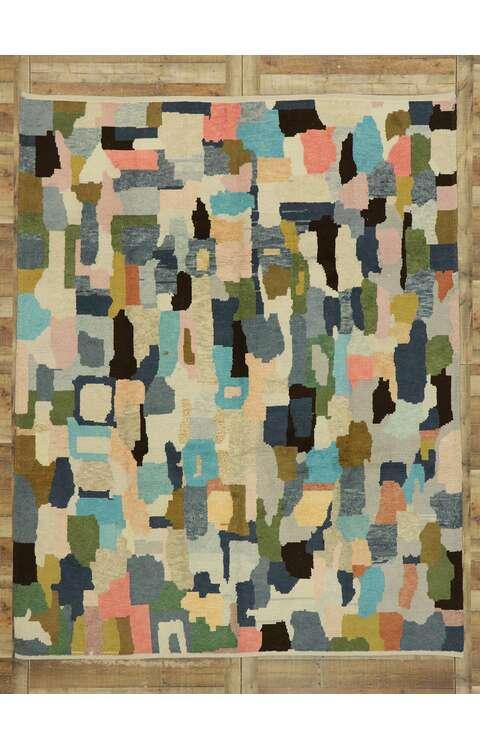 8 x 11 Contemporary Moroccan Rug 53201