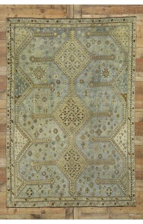 5 x 8 Antique Persian Shiraz Rug 53233