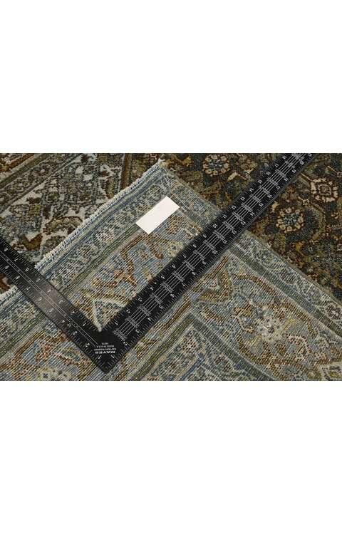 3 x 14 Antique Persian Bibikabad Rug 53236