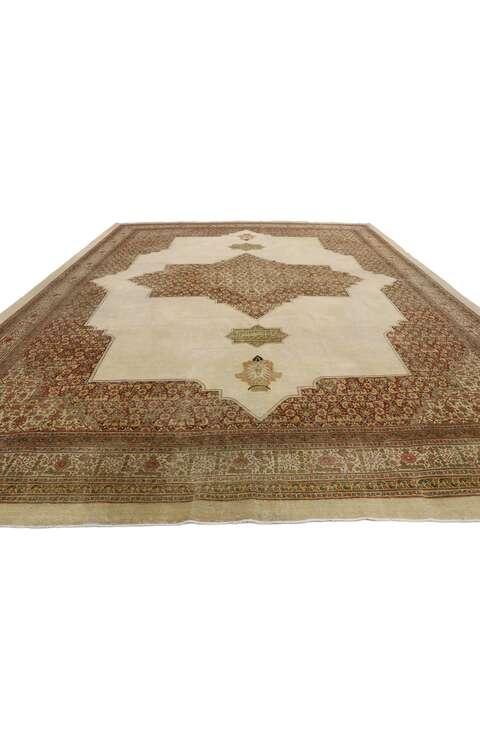 11 x 14 Antique Persian Tabriz 53250