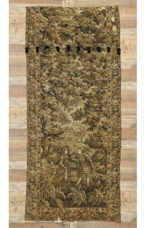 4 x 9 Antique Tapestry Rug 720954 x 9 Antique Tapestry Rug 72095