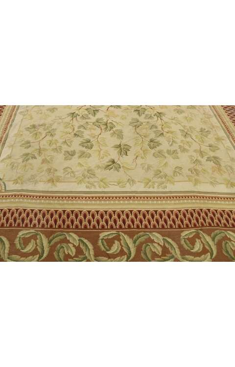 9 x 11 French Aubusson Rug 77523