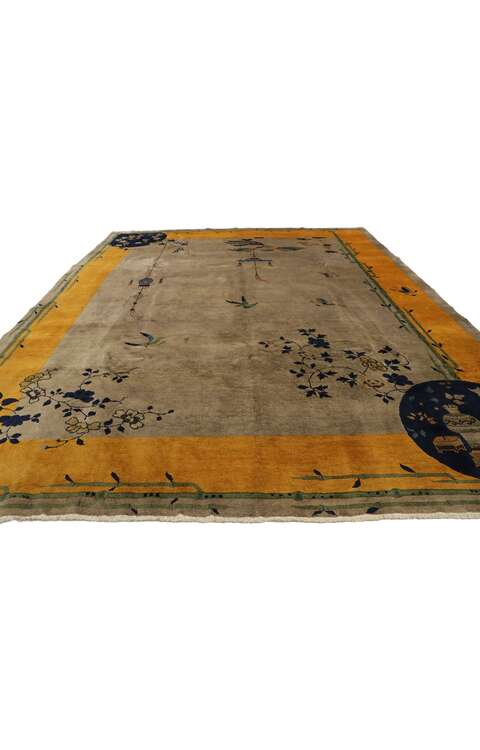 9 x 12 Antique Chinese Rug 77551