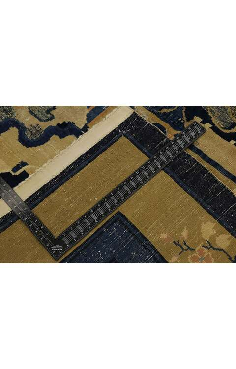 9 x 11 Antique Chinese Rug 77556
