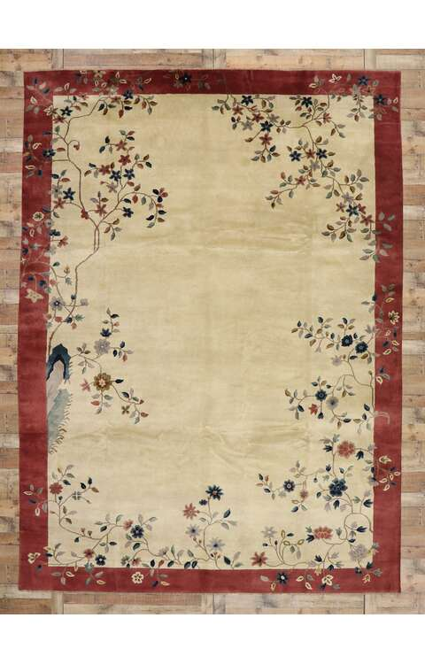10 x 14 Chinese Art Deco Rug 30552