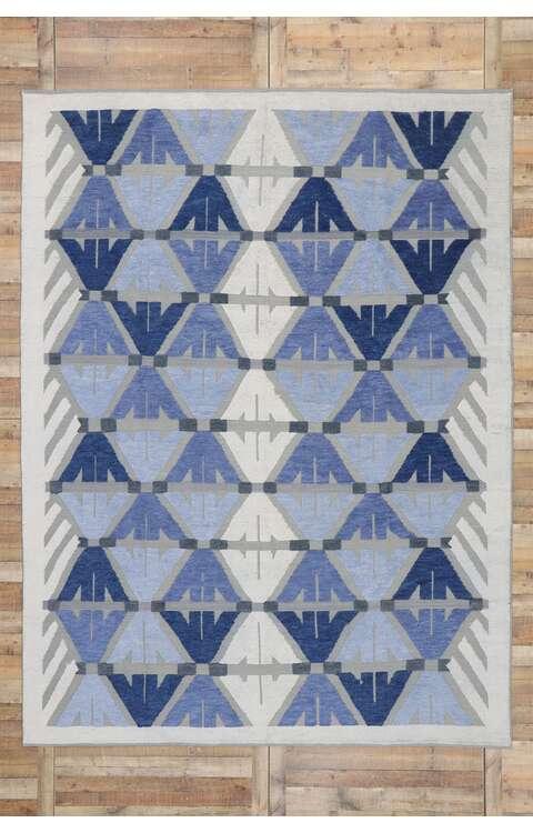 9 x 12 Contemporary Kilim Rug 30589