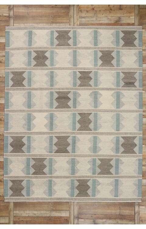 9 x 12 Swedish Kilim Rug 30617