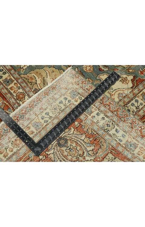 11 x 15 Antique Persian Tabriz Rug 53221