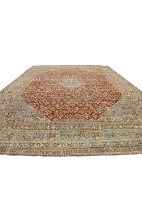 11 x 14 Antique Persian Joshegan Rug 53231