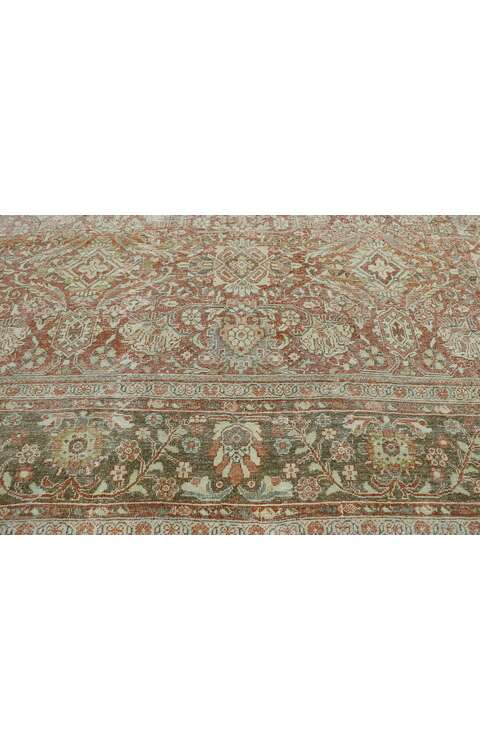10 x 14 Antique Persian Mahal Rug 53232