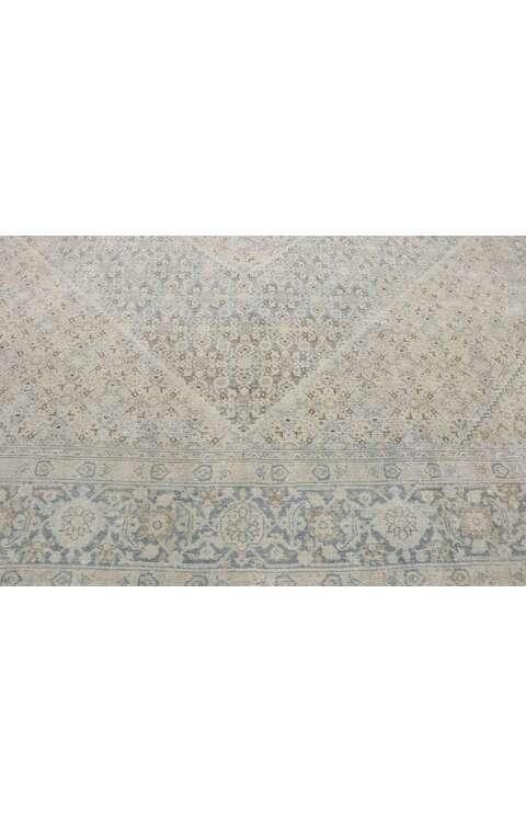 9 x 12 Vintage Persian Tabriz Rug 53274