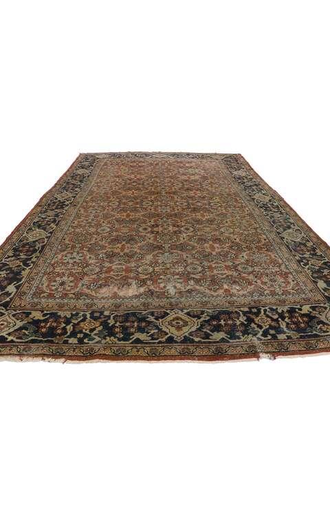 8 x 12 Antique Persian Mahal Rug 775728 x 12 Antique Persian Mahal Rug 77572