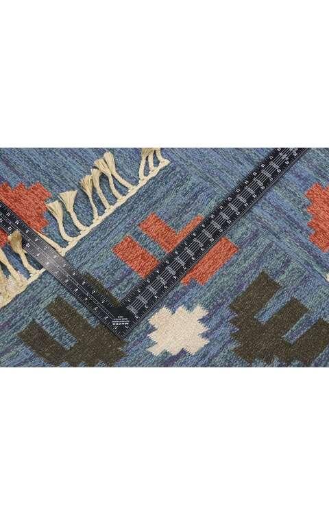 5 x 9 Vintage Swedish Kilim Rug 77574
