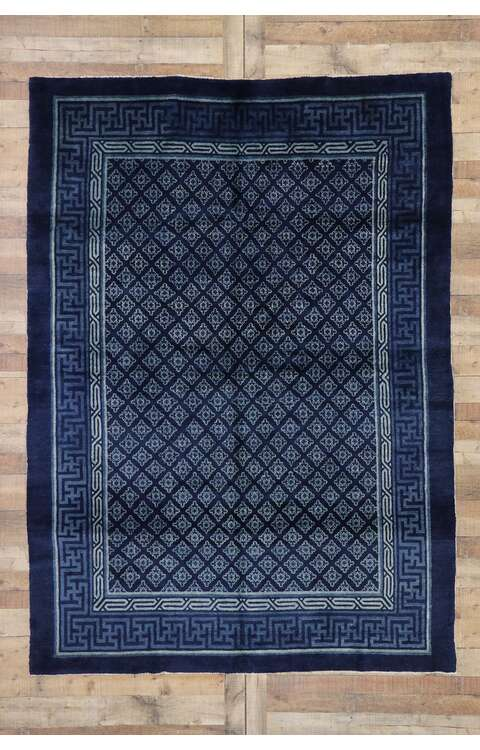 6 x 9 Antique Chinese Rug 53395