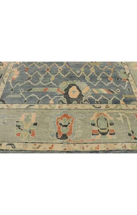10 x 12 Turkish Oushak Rug 53406