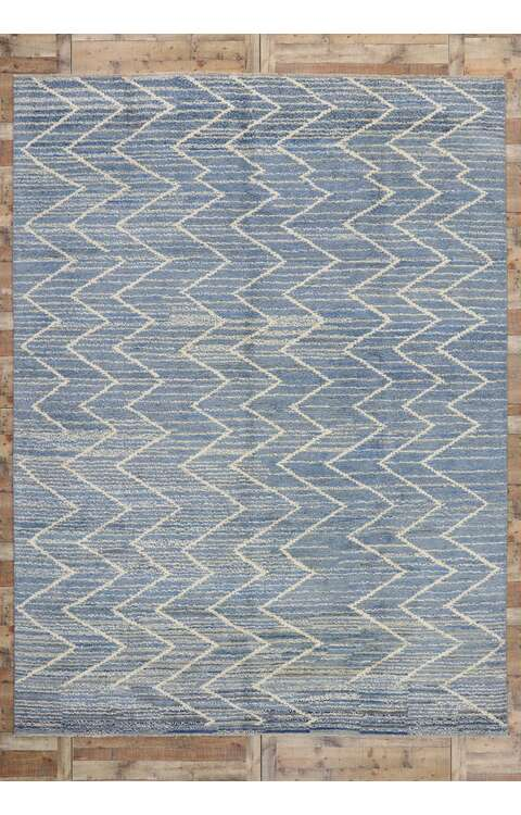 10 x 14 Contemporary Moroccan Rug 80642
