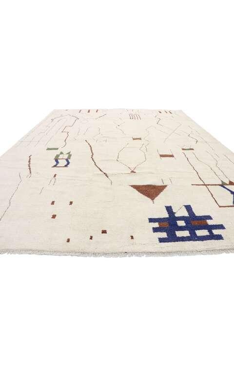 10 x 14 Contemporary Moroccan Rug 80646