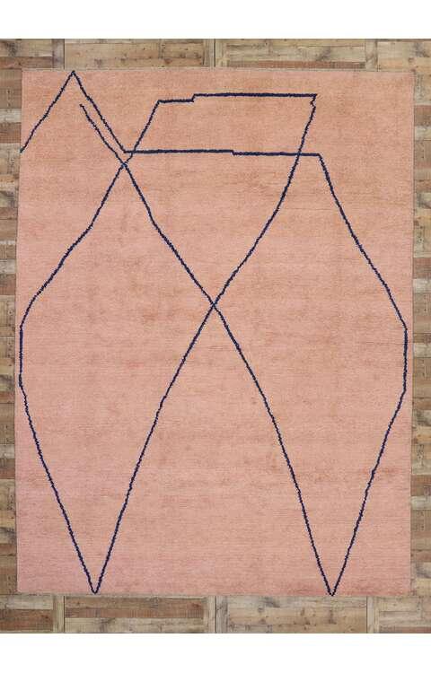 10 x 14 Contemporary Moroccan Rug 80647